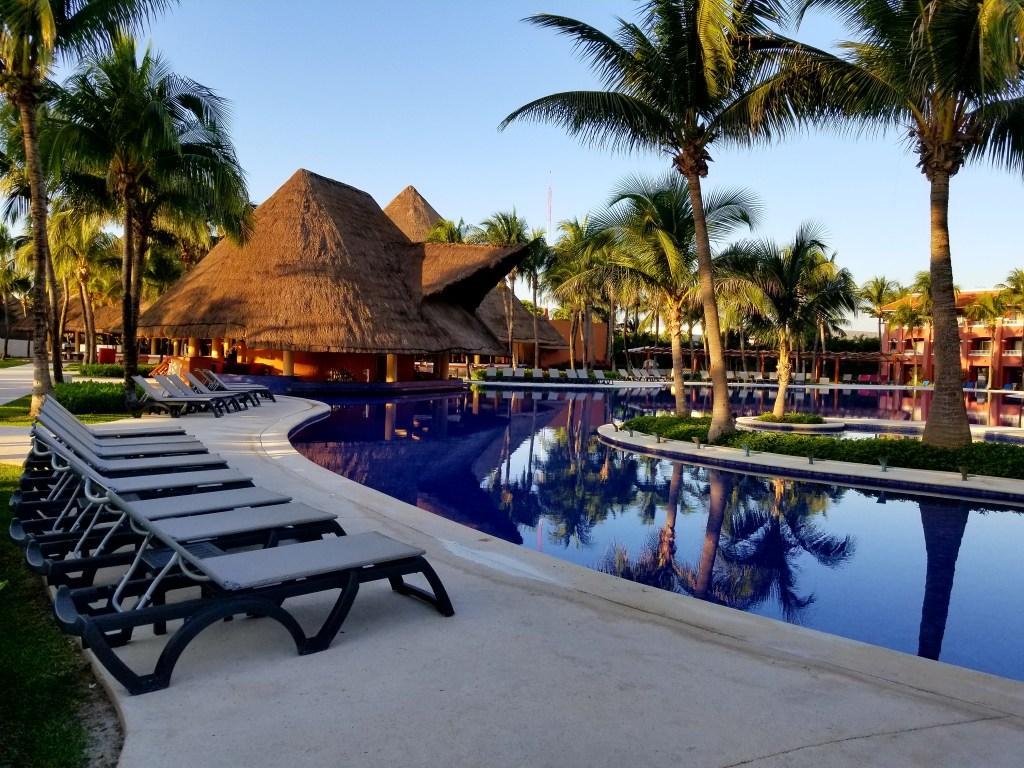 Barcelo Maya Grand, Colonial Pool, Mayan Riviera, Mexico