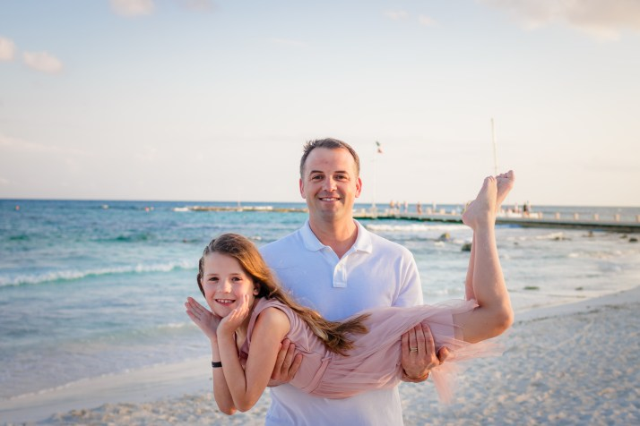Our family photo session at the Barcelo Maya Grand, Mayan Riviera, Mexico
