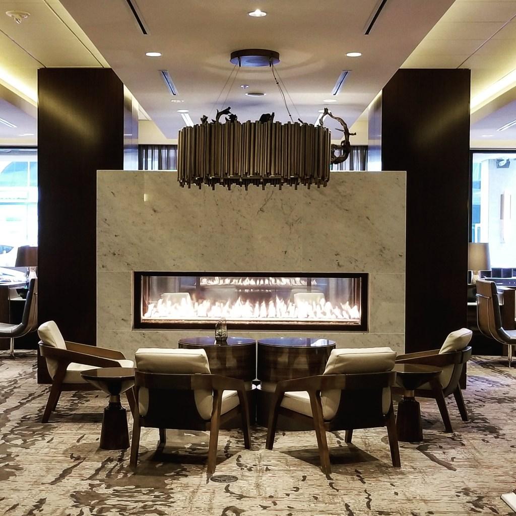 Lobby, Calgary Marriott Downtown Hotel, Calgary , Alberta