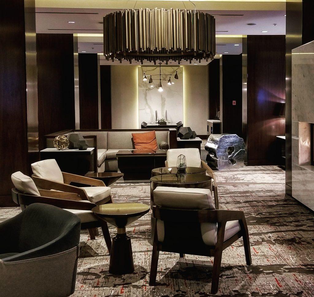 Lobby, Calgary Marriott Downtown Hotel