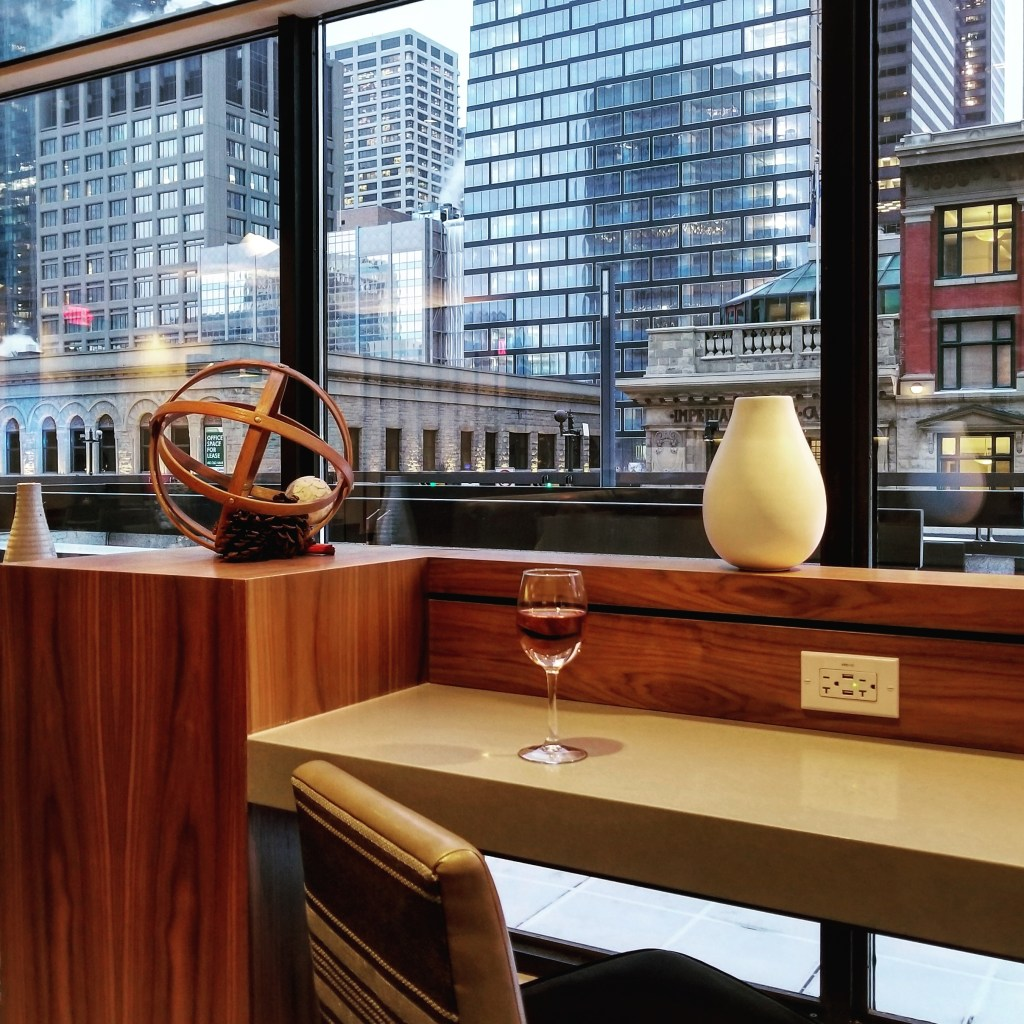 M Club Concierge Lounge, Calgary Marriott Downtown