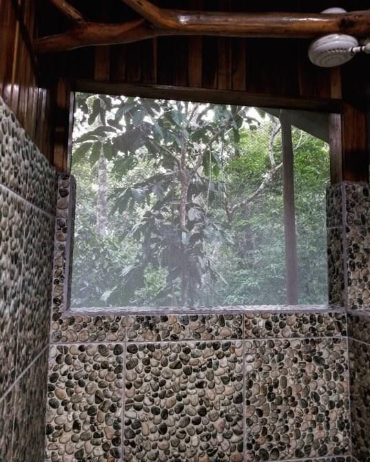 Shower, Monkey House, Tree Houses Hotel, Costa Rica