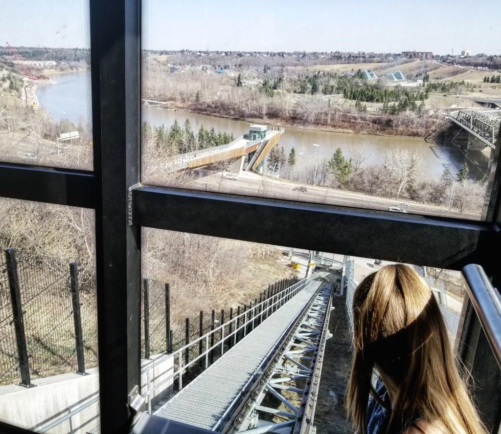 Downtown Funicular, Edmonton, Alberta