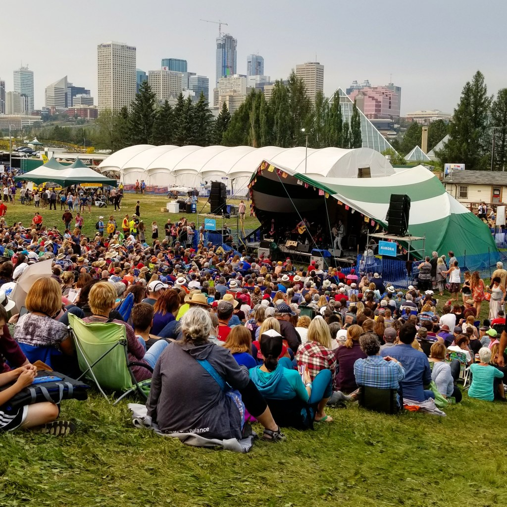 Stage 5, Edmonton Folk Music Festival, 2018