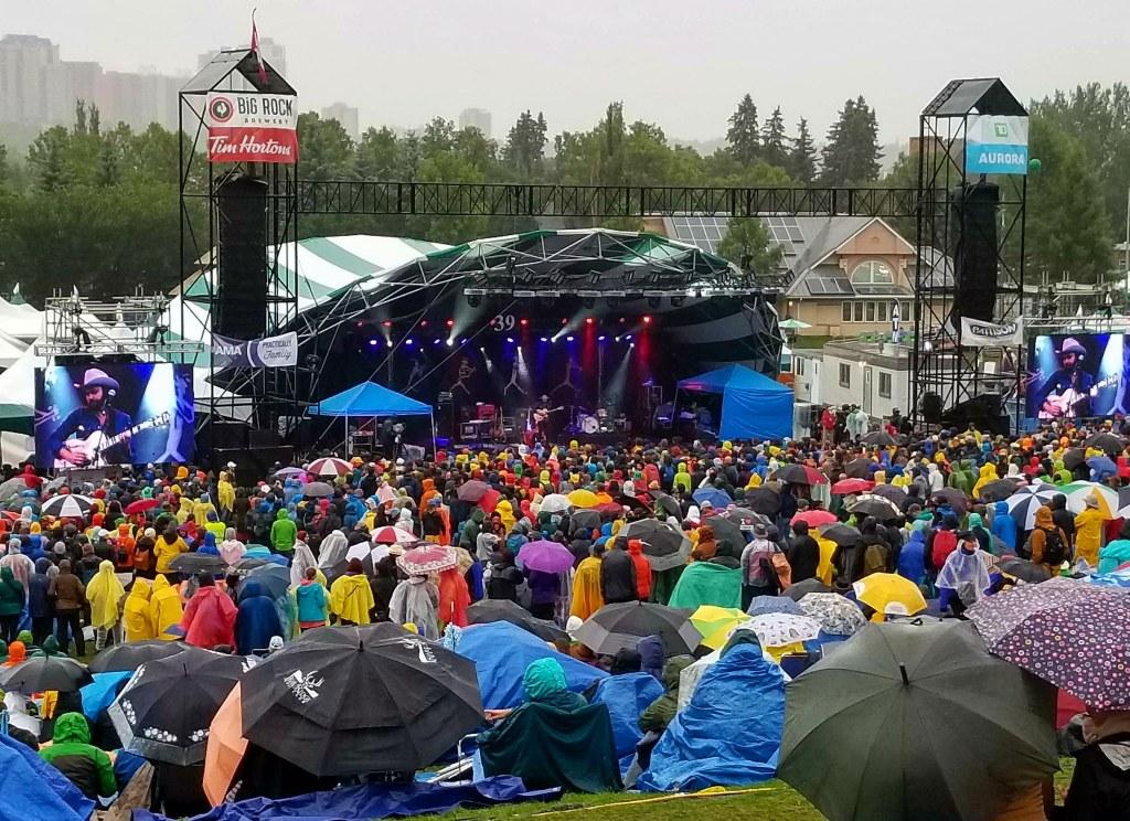 Shakey Graves, Main Stage, Edmonton Folk Music Festival, 2018