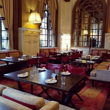 St James Experience, Oak Long Bar + Kitchen, Fairmont Copley Plaza, Boston