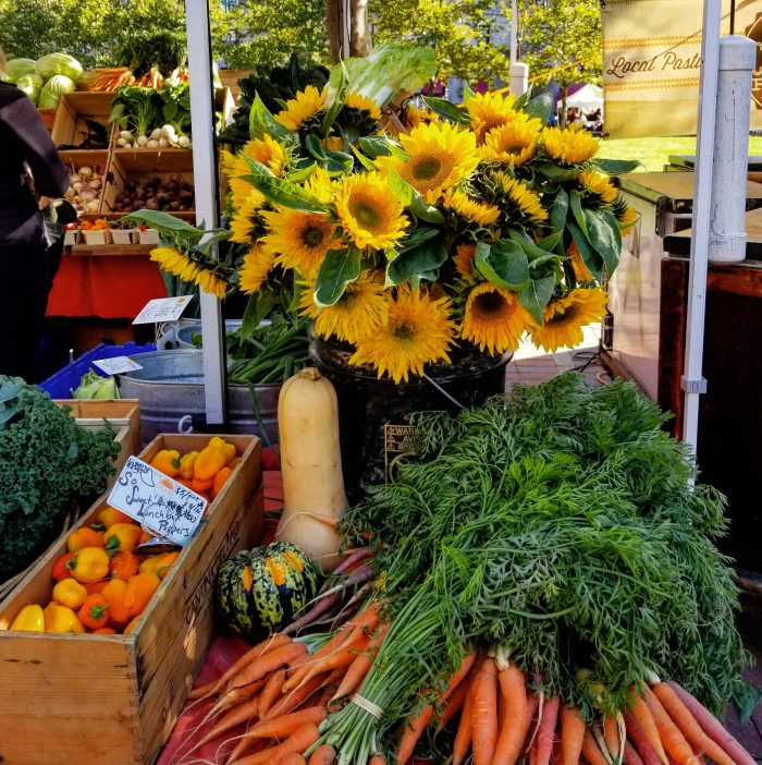 Copley Square Farmers Market, Boston