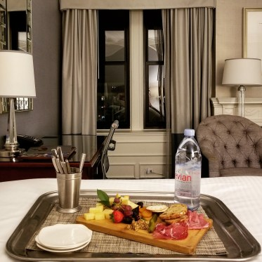 Room Service, Fairmont Copley Plaza, Boston