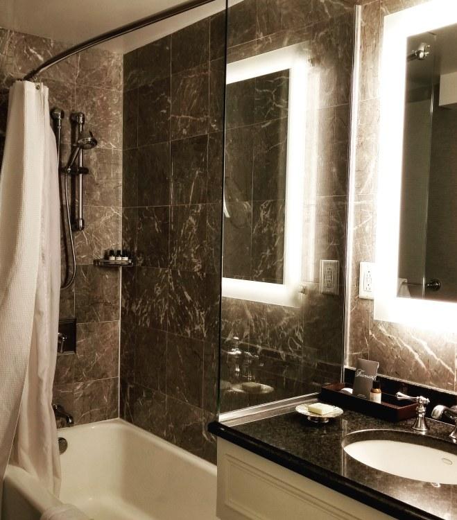 Bathroom, Fairmont Copley Plaza, Boston