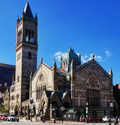Old South Church, Copley Square, Boston