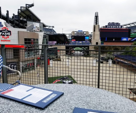 CBS Sporting Club, Patriot Place, Gillette Stadium