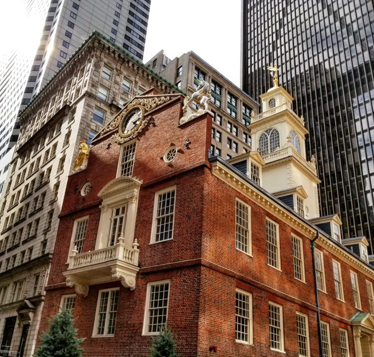 Old State House, Freedom Trail, Boston, New England