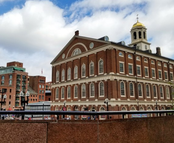 Faneuil Hall, Freedom Trail, Boston, Massachusetts