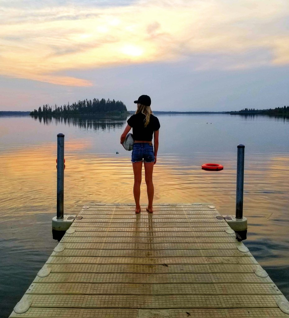 Sunset at Elk Island National Park is one of the Best Edmonton Summer Experiences