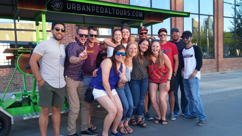 Courtesy: Urban Pedal Tours, Edmonton, Alberta
