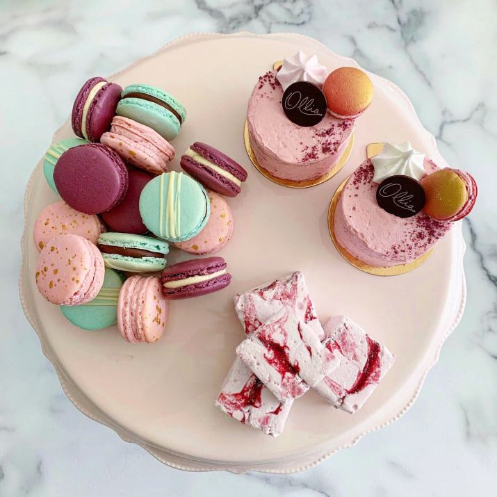 Ollia Macarons and Tea, Instagram @byollia