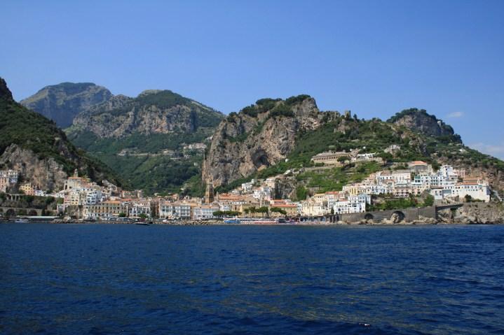 Amalfi Coast from the Ferry