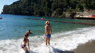 Waves at Paraggi Beach
