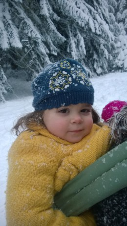 Giuliana (1) in the snow
