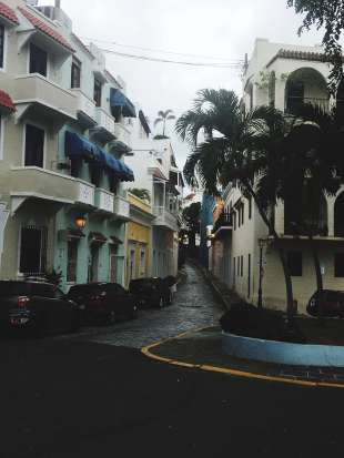 Old San Juan colorful streets