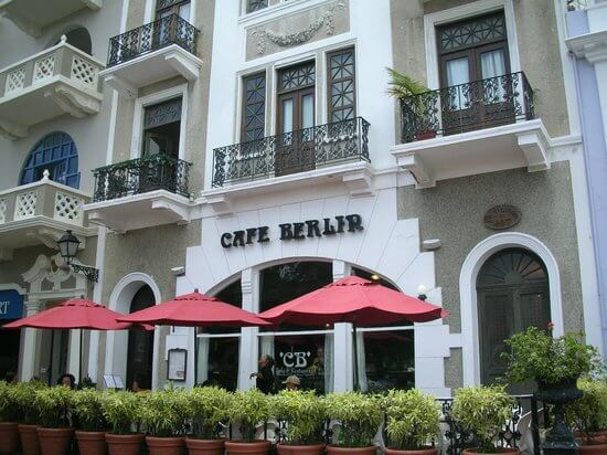 Cafe Berlin on Calle San Fransisco in Old San Juan gluten-free breakfast