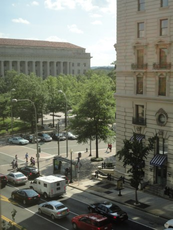 view of 14th street & willard hotel