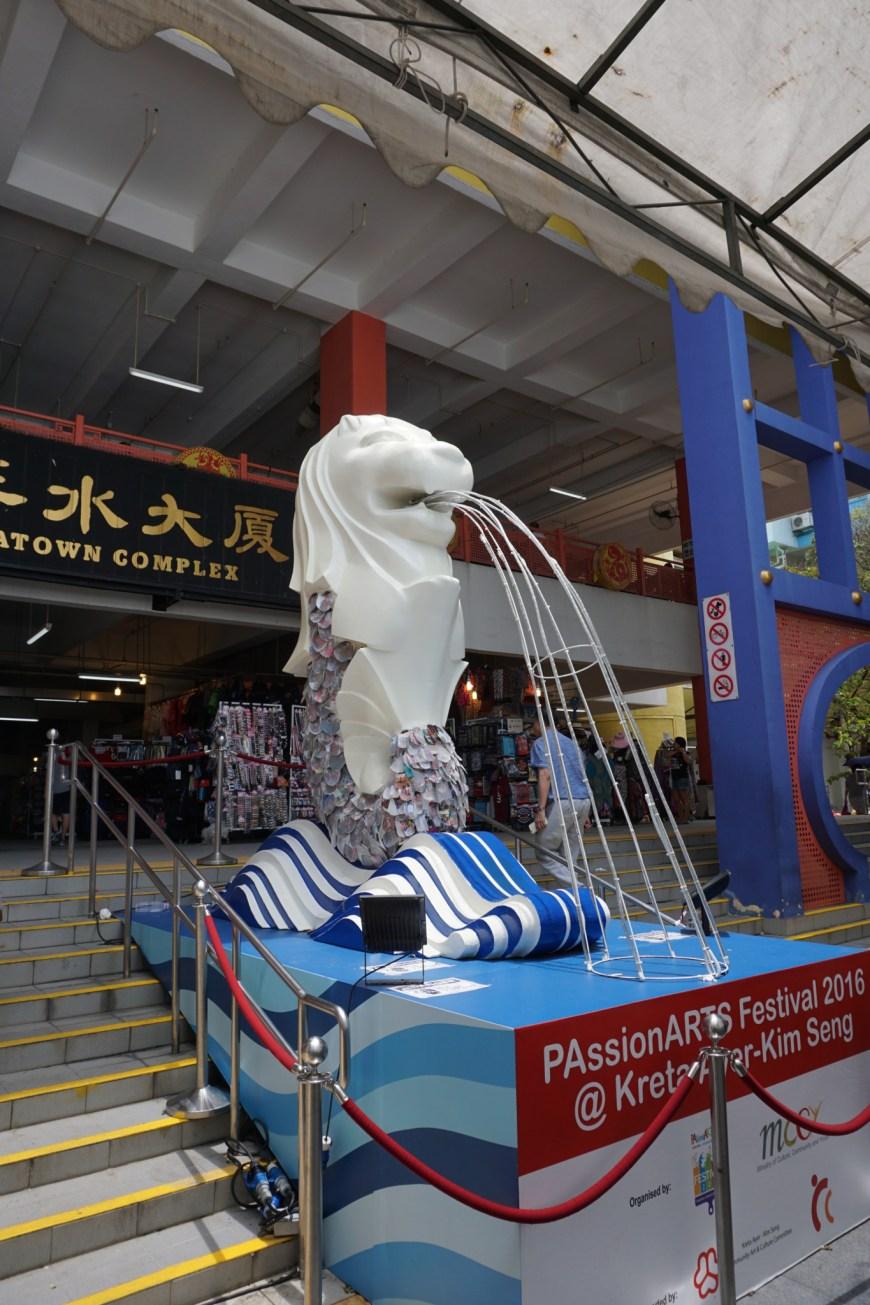 Chinatown Merlion