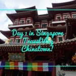 Visiting Chinatown