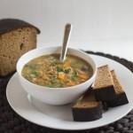 Pressure Cooker Lentil Soup | https://passtheplants.com