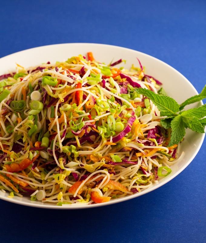 Salad Roll Salad | https://passtheplants.com