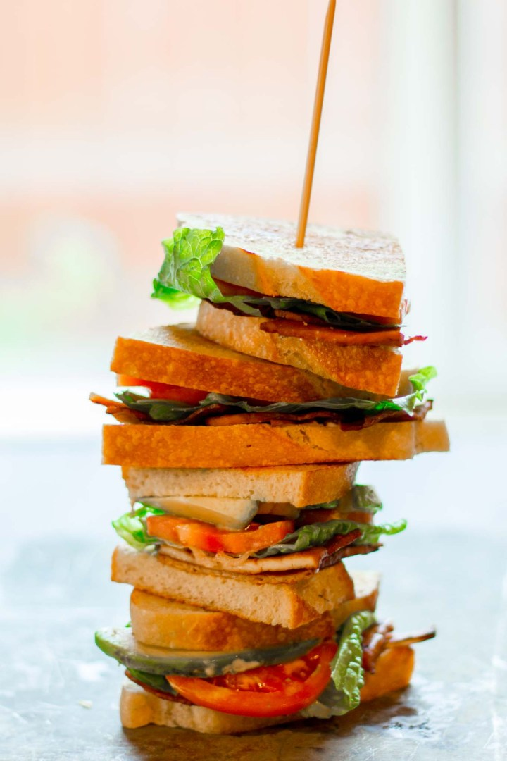 Make the ultimate vegan BLT with this tofu bacon