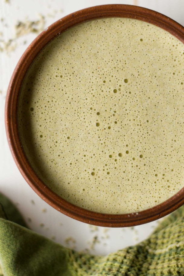 Creamy, Smoky, Spicy, & Citrusy - this Hemp Mojo is oil-free and the perfect marinade or salad dressing for your next Mexican feast! | https://passtheplants.com