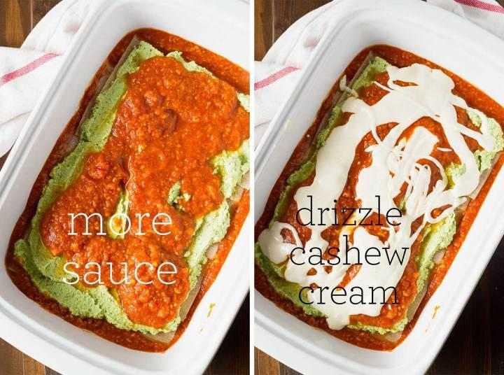 Best Damn Vegan Lasagna | Oil-Free | https://passtheplants.com