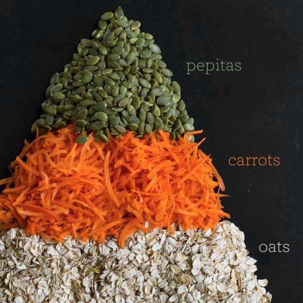 Carrot Cake Blender Muffins | Vegan Muffins | Gluten-free Muffins | Healthy Muffins | https://passtheplants.com/