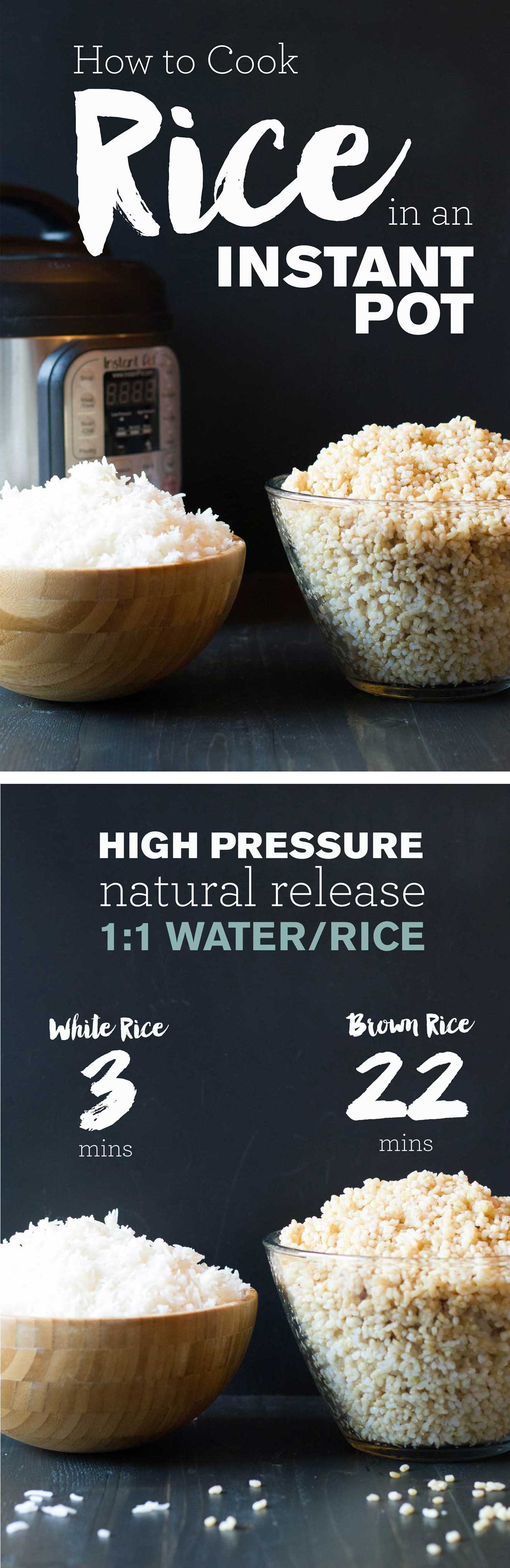 Best way to cook healthy brown rice in instant pot lux