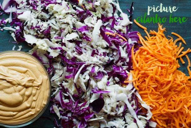 Vegan Southwestern Coleslaw | Vegan | Plant-Based | Oil-Free | Spicy | Chipotle | Coleslaw | https://passtheplants.com/