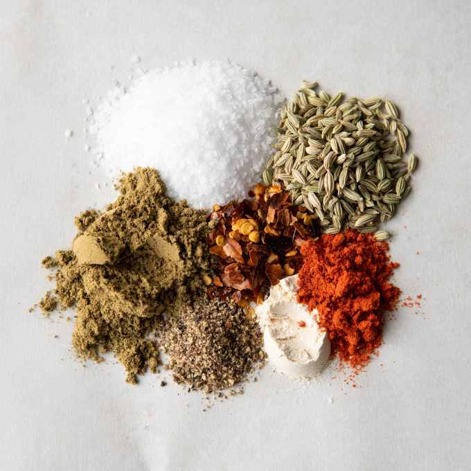 spice blend for vegan breakfast sausage crumbles