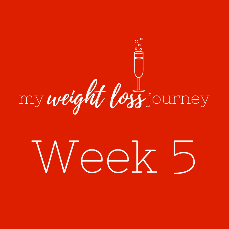 Weigh-in Wednesday(late again) – week 5