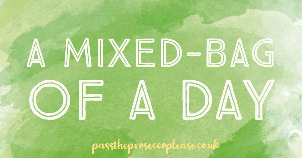 A mixed-bag of a day