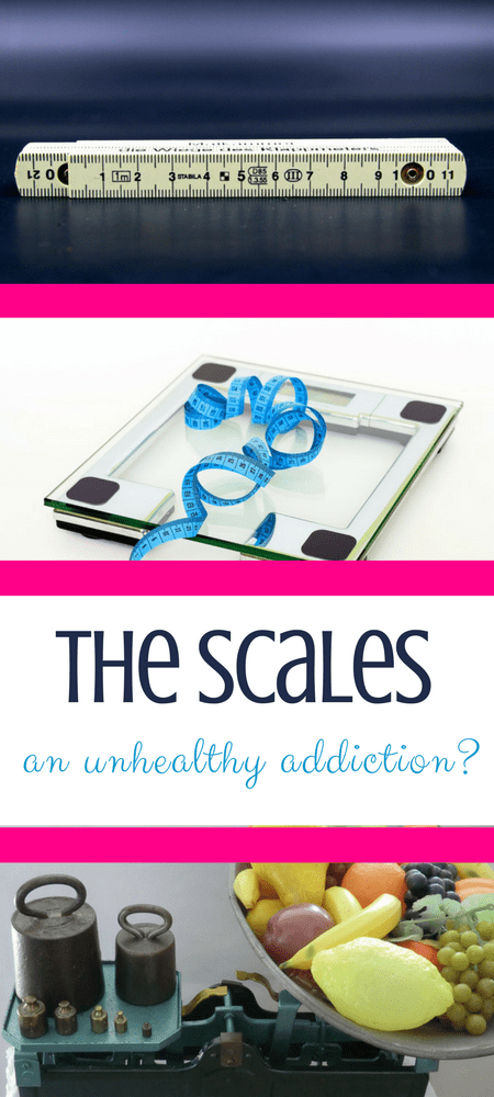 Scales - is weighing an unhealthy addiction? #weightloss #weightlossjourney #addictedtofood