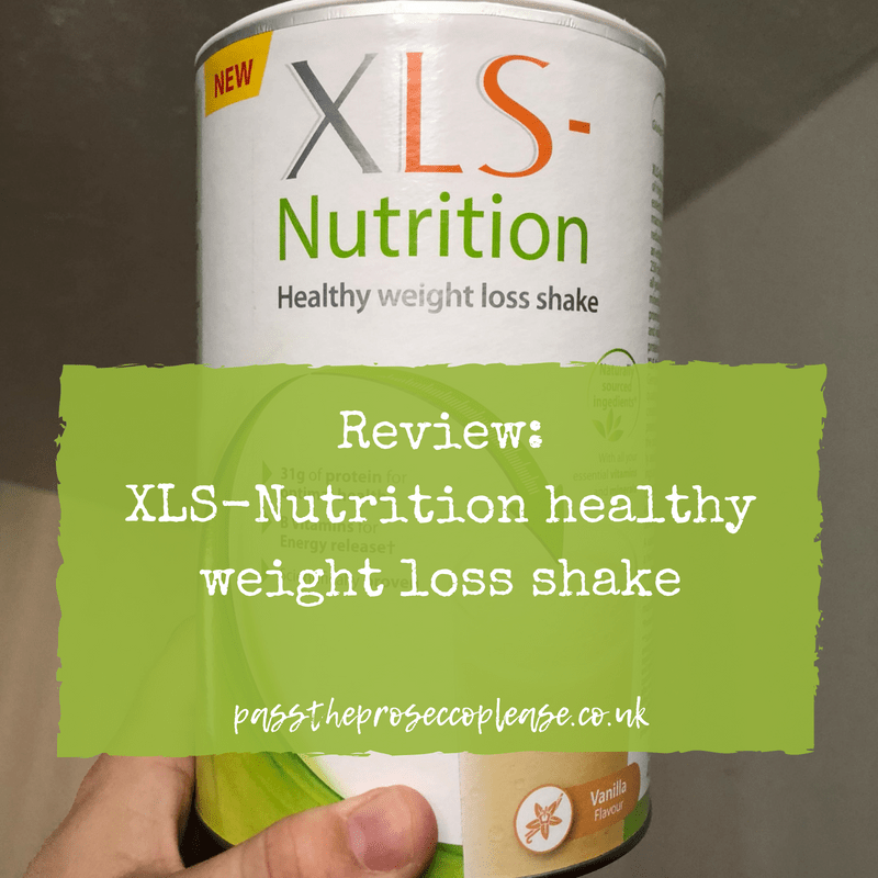 Review: XLS-Nutrition healthy weight loss shake