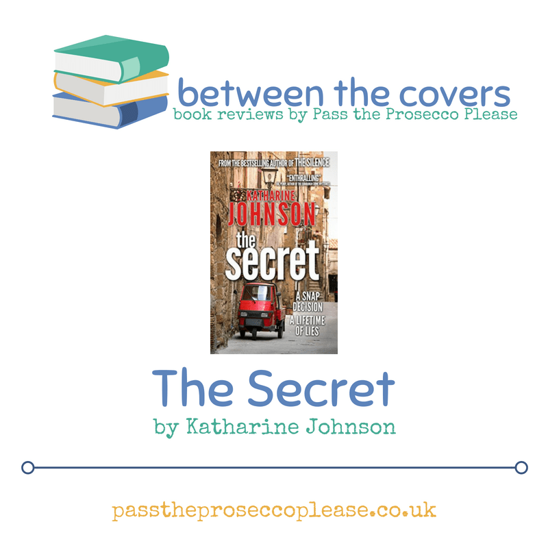 Between the covers: The Secret by Katharine Johnson