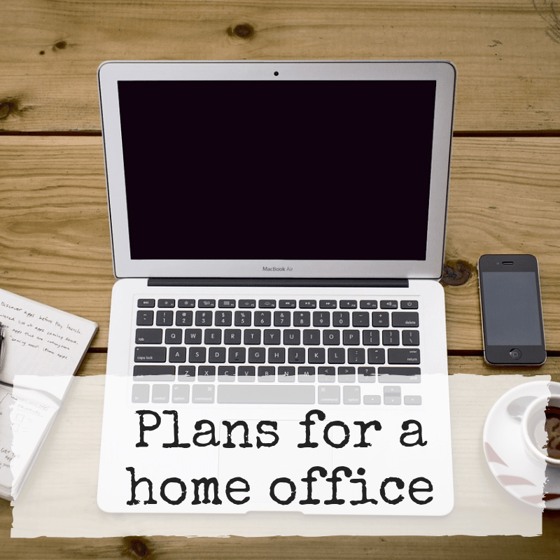 Plans for a home office