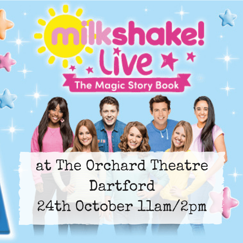 Coming soon: Milkshake! Live at The Orchard Theatre, Dartford