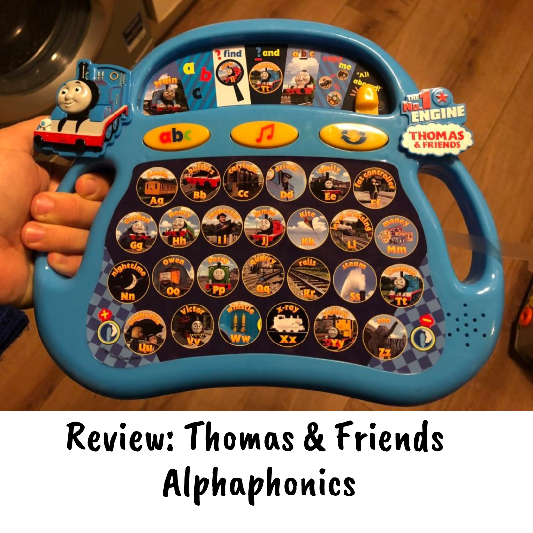 Review: Thomas & Friends Alphaphonics