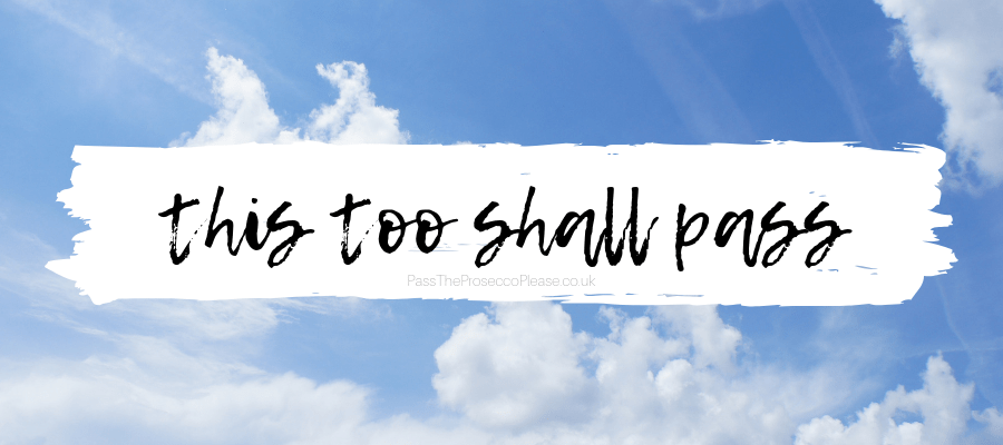 this too shall pass motivational quote chronic illness flare