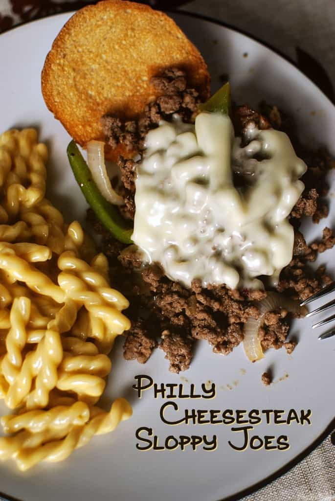 Philly Cheesesteak Sloppy Joes {Pass the Sushi}