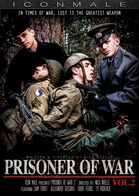 Icon Male Releases Anticipated Follow Up To Bestselling Gay Erotica 'Prisoner Of War'