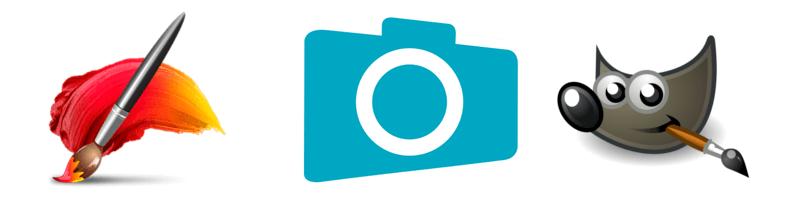 Photoshop Paint Shop Pro GIMP Corel painter