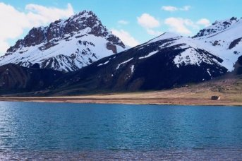 شمشال پامیر جھیل کا خوبصورت منظر